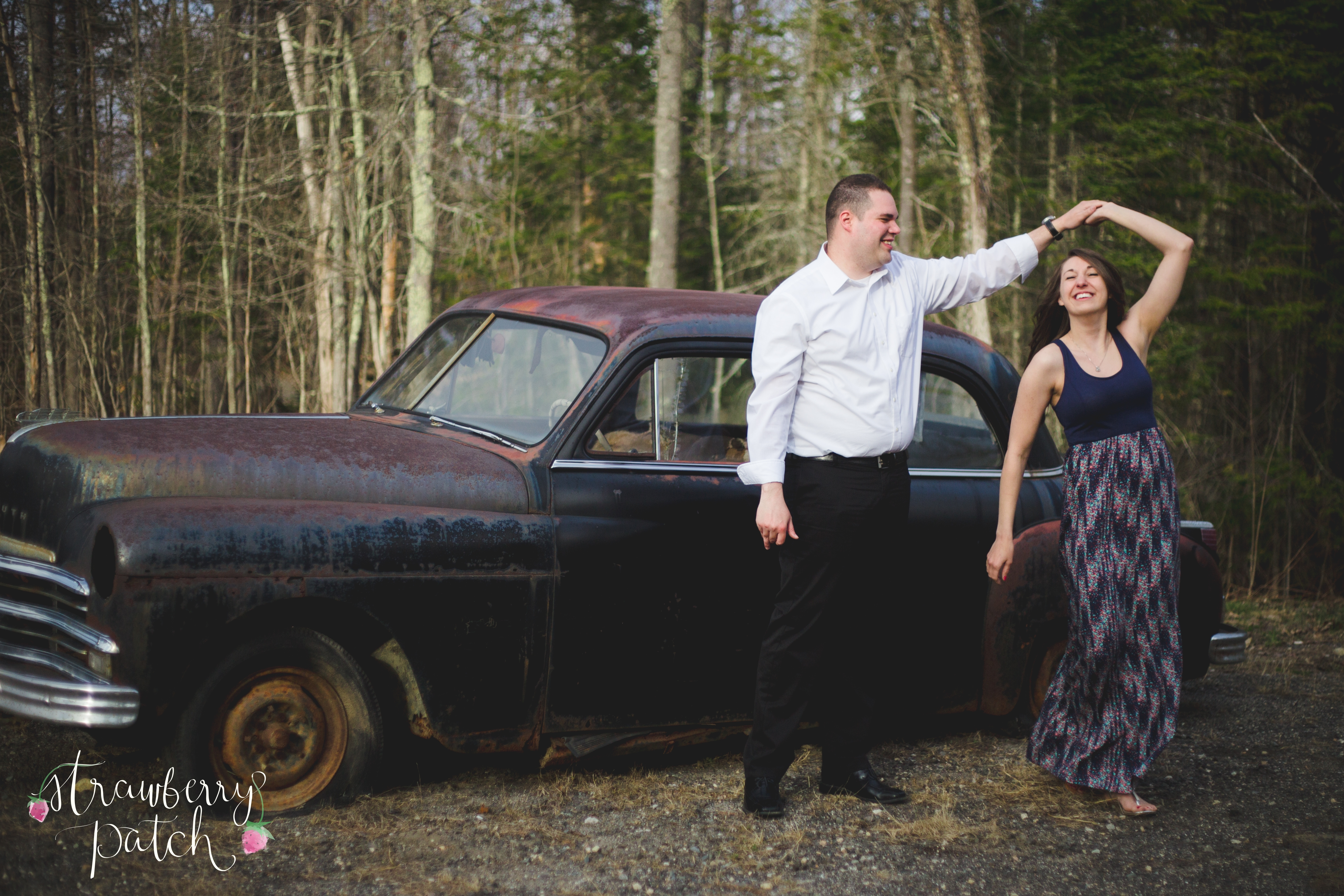 Antique Car | Birth and Family Photographer